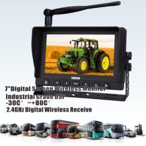 버스, RV, 트레일러, 이동 주택, 5 바퀴 및 트럭을%s 디지털 무선 사진기 7  모니터