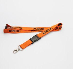 En polyester tissé bracelet textile jacquard/corde/bande/ID/bande de ruban pour le titulaire de carte