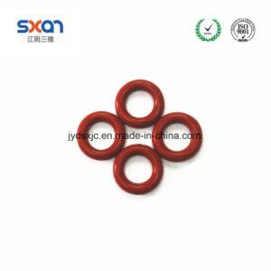 0.6 1 1.5 1.7 Silastic gedichteter Ring-Standardsilikon-Ring-Öldichtungen Vmq Ring-runder flacher Gummidichtung-Gummi-O-Ring