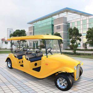 Ce van de Fabriek van China keurde de Zuivere Elektrische Klassieke Kar van het Golf goed (dn-6D)