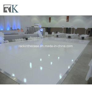 Rk de madera muebles pista de baile con armazón de aluminio