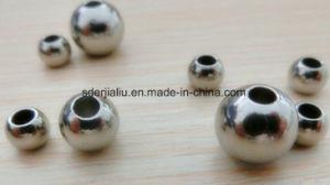 SS304 foré bille en acier inoxydable avec à travers le trou de 15,8 mm 20mm 25mm 30mm