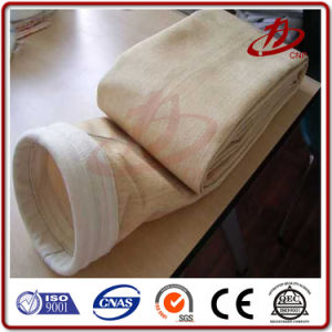 Ткань из стекловолокна цементной пыли мешок фильтра