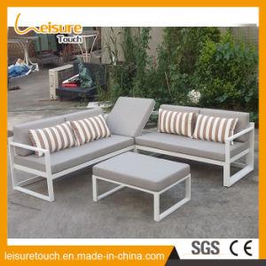 Canapé d\'angle en aluminium de loisirs moderne Set Table et chaise ...