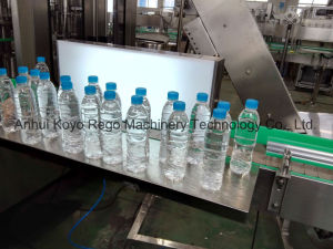 Conjunto completo de la línea de producción de botellas de agua pura