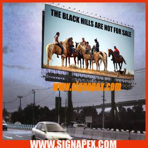 Огнестойкий плакатный ПВХ Глянцевая Flex баннер/рекламы на стендах для установки вне помещений для цифровой печати