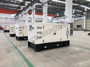 경제 세륨 ISO를 가진 43kVA Yangdong에 의하여 강화되는 방음 디젤 엔진 발전기