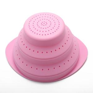 FDA одобрил продажу горячей воды фильтр для фруктов силикона складная корзина для хранения
