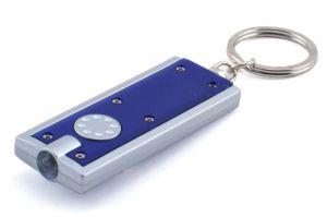 販売(096)のためのMOQの簡単な懐中電燈の習慣LEDのキーホルダー無し