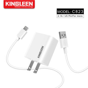 Нам пробка комплект аксессуаров для мобильных ПК 2, 2,1 А настенное зарядное устройство USB адаптер + 3фт быстро Micro USB-кабель синхронизации данных