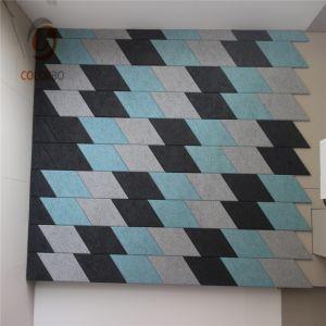 Dekoratives Panel für quadratische Ecke