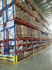 Estantería de palet selectivo de almacén de estantería estantería metálica para Rack System