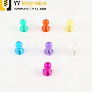 Whiteboardsのための強い分類されたカラー磁気押しピン