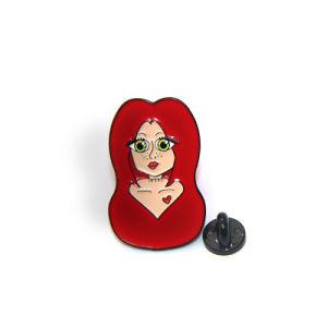 고품질 주문 여자 Pin