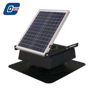 justierbares Dach-Kühlventilator des Sonnenkollektor-20watt, Solarabsaugventilator