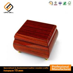 Caja de regalo un alto brillo joyero de madera de palisandro Embalaje