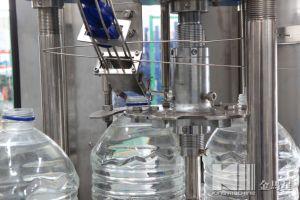 Volle automatische komplette Wasser-Füllmaschine der Flaschen-6L für Verkauf