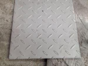 L'AISI 430 Feuille à carreaux de plancher en acier inoxydable
