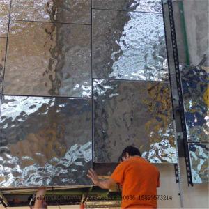 水さざ波パターン304はステンレス鋼のパネルシートを浮彫りにした