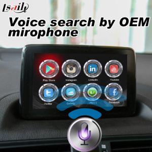 De Androïde 6.0 GPS van Plug&Plug VideoInterface van de Doos van de Navigatie voor 2014-2018 Mazda CX-4 CX-5 mx-5 CX-9 2 3 6 met Google Kaart Yandex enz.