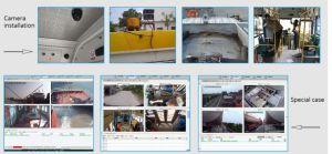 Wi-FI Monitor-Bildschirm-mobiles Gedankenstrich-Nocken-Auto DVR des Anschluss-4CH 7  LCD