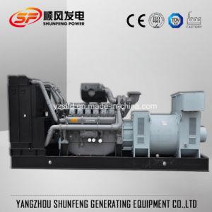 O silêncio de baixo ruído 150kVA gerador diesel de potência eléctrica Perkins EPA