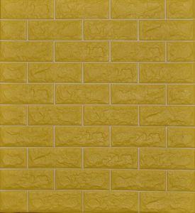 Wand-Ziegelstein-PET Texturentwurf Wallpapers Papier-Wand-Aufkleber der Backsteinmauer-3D mit Kleber-an Rückseite