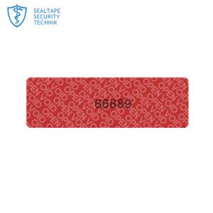 Серийный номер Шэньчжэня печать листа бумаги по прекращению действия гарантии защиты от несанкционированного вскрытия наклейки