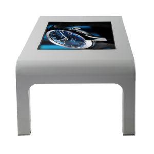 43 인치는 전기 용량 대중음식점을%s LCD 디지털 Signage 테이블을 다중 만진다