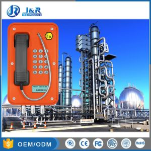 Безопасная Atex аналоговых Взрывозащищенный телефон для промышленности