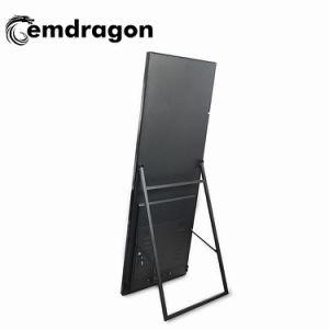 32 polegadas LCD portátil Digital Signage Ad ecrã LCD Tn Cores exteriores de publicidade digital telas para polegadas LCD Monitor LCD Táctil Resisitance Digital Signage