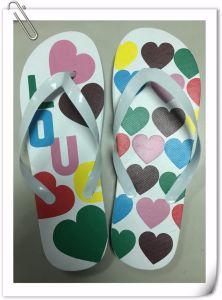 Nouveau design chinois hommes pantoufles des sandales en caoutchouc Flip Flops personnalisé