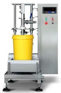 自動プラスチックペットはバレル液体水油壷の満ちるパッキング機械をびん詰めにする