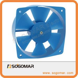 210x210x71mm 380V AC trifásico con ventilador axial de paletas de plástico