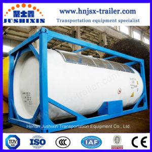 Recipiente de gás do tanque ASME topo ISO de segurança do transporte marítimo de contentores do depósito de Gás Propano contentor