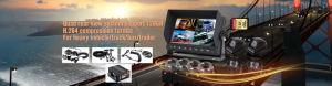 Bewegliches DVR für mobiles Fahrzeug Mdvr des Fahrzeug CCTV-H. 264 Auto-720p