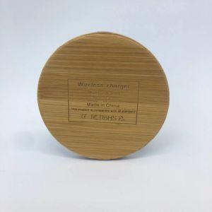 iPhone 8 Xのためのノート5の無線充満立場とSamsungギャラクシーS8 S8 S7端S7 S6の端のための木製の穀物の無線充電器