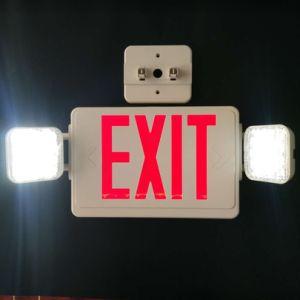 Salir de la luz de la luz de emergencia de seguridad contra incendios