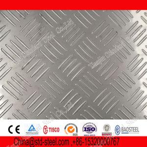 Из нержавеющей стали AISI 304 Клетчатого плиты для пола