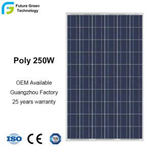 Оптовая торговля 250 Вт мощности возобновляемых источников энергии полимерные кристаллические ячейки PV СОЛНЕЧНАЯ ПАНЕЛЬ