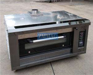 De volledig-automatische Enige Oven van het Baksel van het Brood van het Dek van het Roestvrij staal Industriële Elektrische (zmc-102D)