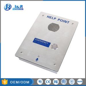 Prueba de vandalismo de VoIP de manos libres de llamadas de emergencia, la Caja de acero inoxidable resistente Teléfono de Emergencia de SIP