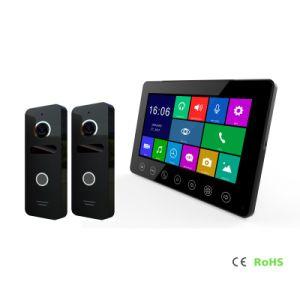 Memoria HD de 7 pulgadas de la seguridad del hogar interfonía HD Video Portero intercomunicador