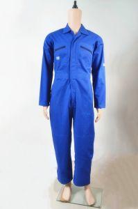 De katoenen Veiligheid Workwear van de Polyester Eenvormig voor de Kleren van de Slijtage van het Werk