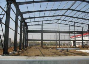 La estructura de acero de pared Gable End Frame Edificio Comercial / Sala de Exposiciones Exposición /