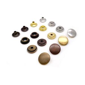 O Tipo de Material de latón de cuatro colores Botón El Anillo de seguridad
