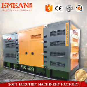 Generatore diesel silenzioso elettrico Genset di inizio 200kw 250kVA di potere di marca