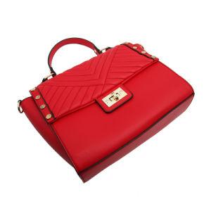 2018 Las mujeres de alto Quanlity Hotsale Bolso Mujer PU Bolsa costura de moda bolso de dama