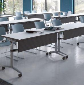 2018 оригинальной конструкции прямоугольной школы письменный стол