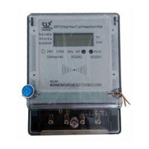 Однофазного электронную RF карт предоплаты в эксплуатацию электронного ваттметра
